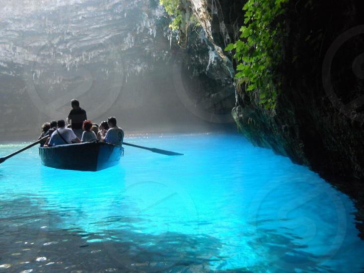 Kefalonia cave photo
