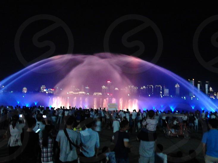 The Dancing fountain photo