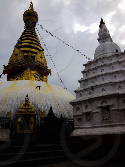 Swayambunath stupa photo