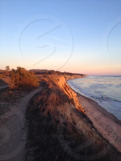 More Mesa. California coast sunset. Running trails. Beach.  photo