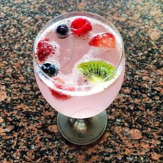 Sparkling Pink Lemonade  photo