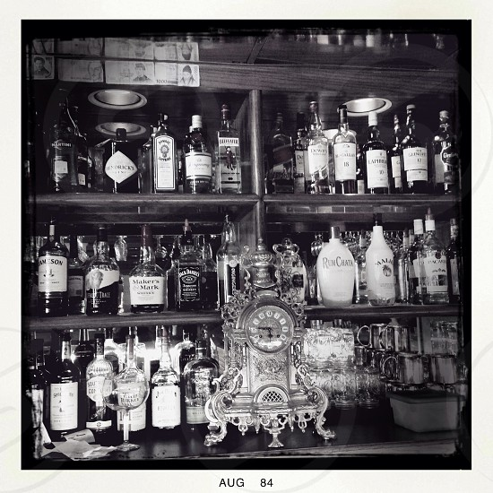 Bar Bar and grill bottles photo