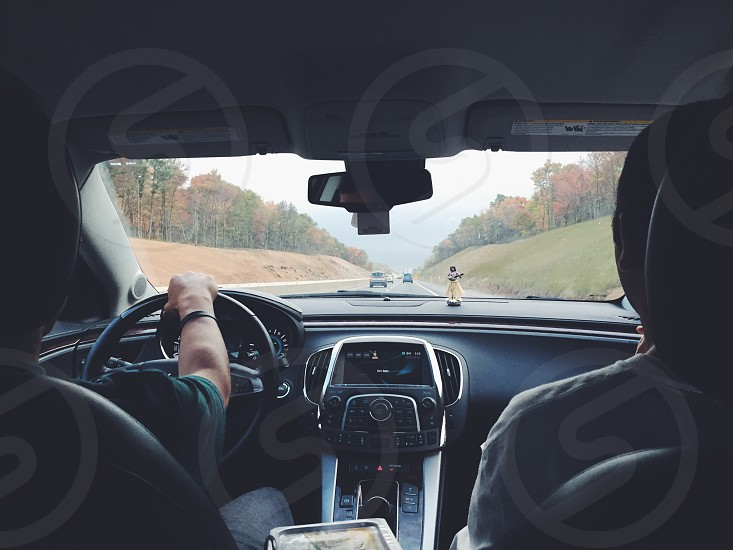 black car dashboard photo