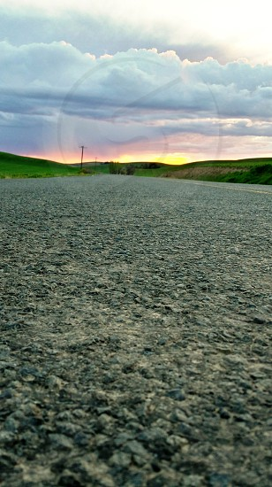 Back Roads Country Living Sunsets The Palouse photo