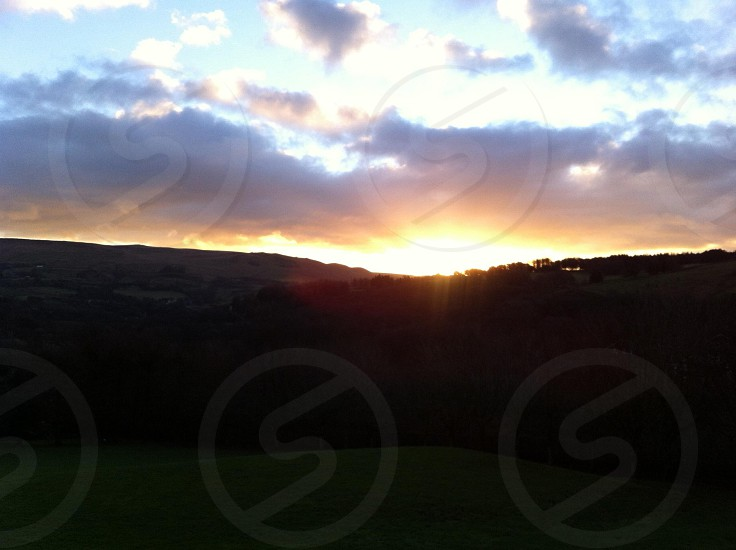 Sunrise Delph Saddleworth  photo