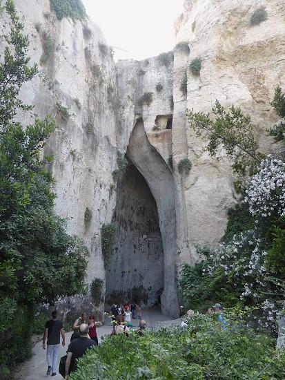Ear of Dionysius - Syracuse - Sicily - Italy photo