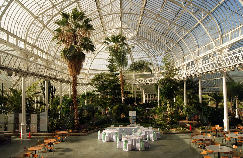 SCOTLAND. GLASGOW. Glasgow Green. The interior of the People's Palace museum. photo
