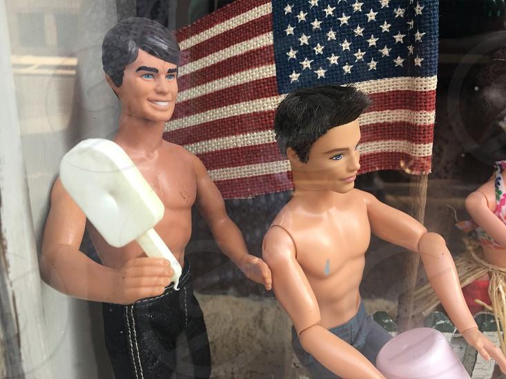 Window display LGBT pride photo