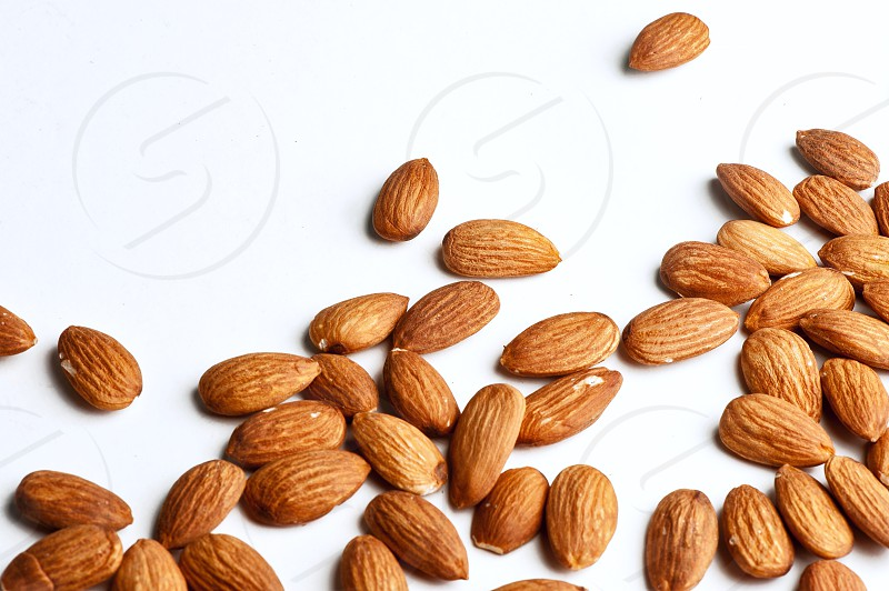 Almonds #almonds #healthy #food #seeds #superfoods  photo