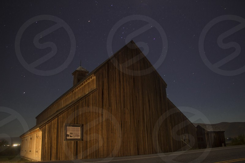 Spooky barn. photo