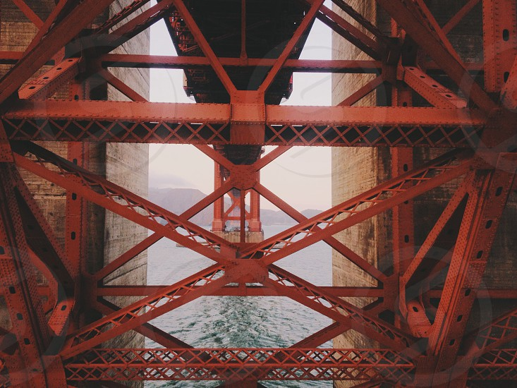 Underneath the Golden Gate Bridge photo