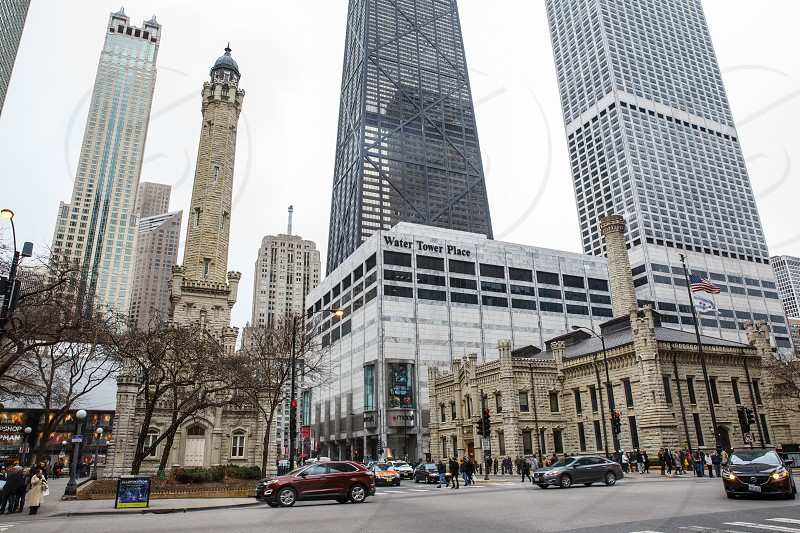 The Magnificent Mile is Chicago's main shopping district. photo