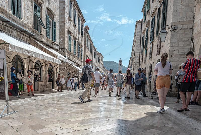 Street Photography - Dubrovnik Croatia photo