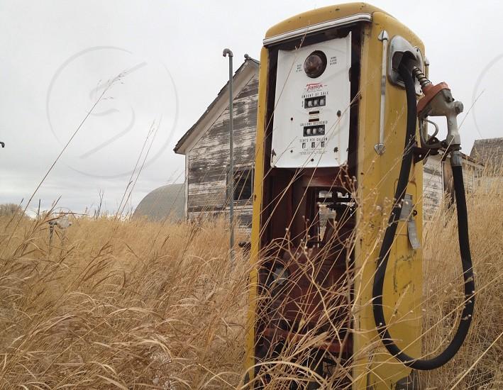 (T2) Abandoned pump photo