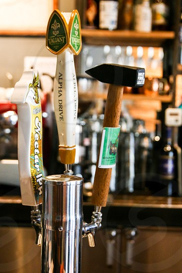Beer on tap photo