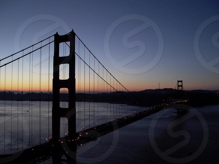 Golden Gate Bridge in San Francisco CA photo