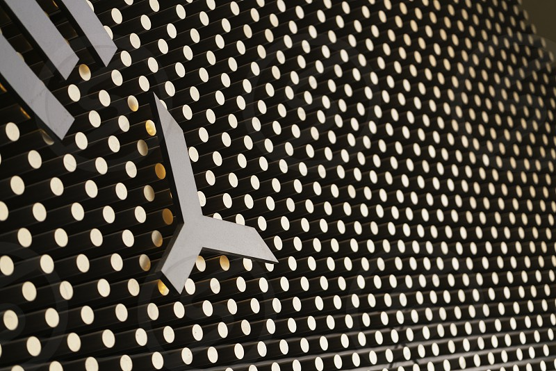 Close up details from shopping malls in China of textures and shapes capturing dramatic lighting. photo