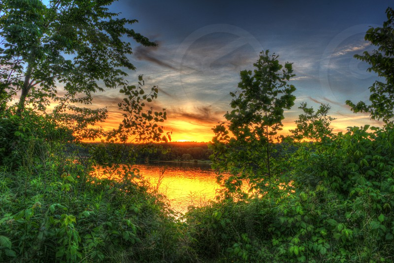 HDR reflection. photo