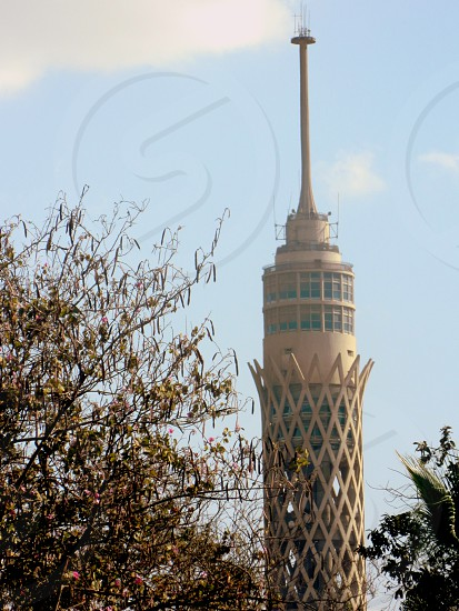 Cairo Tower In The Morning  Random Shot By My Camera  Egypt Beauty  photo
