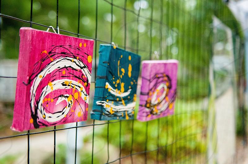 Art paint colors canvas  photo