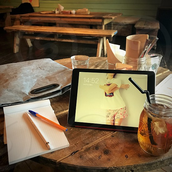cafe nomad business work desk ideas photo