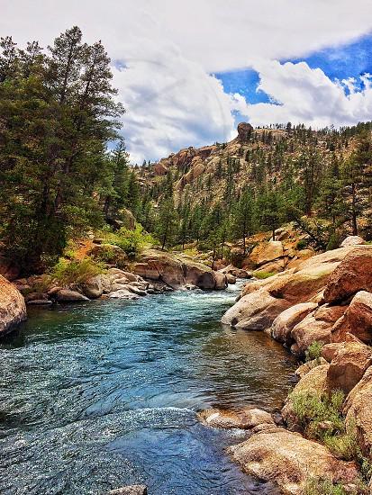 Colorado sadelia creek water mountain pikes peak photo