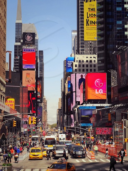 New york city of course times square photo