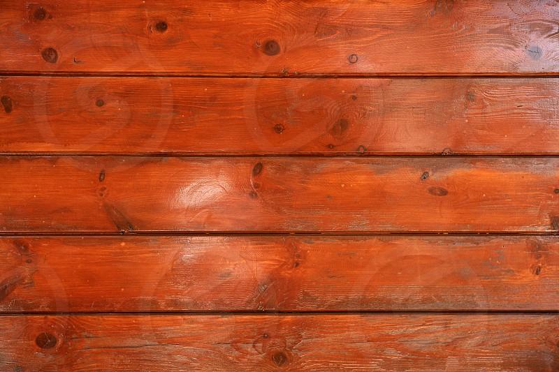 Golden orange wooden wall texture background photo