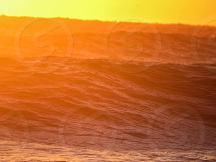 Ocean sunrise beach waves saltlife photo