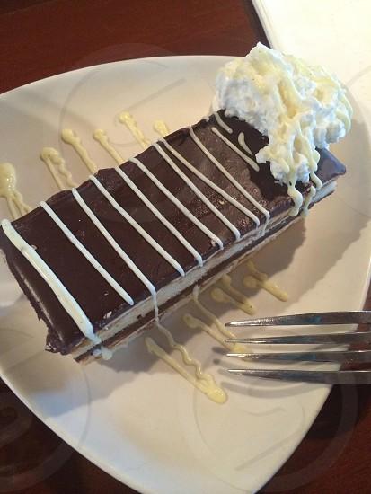 Opera cake dessert  photo