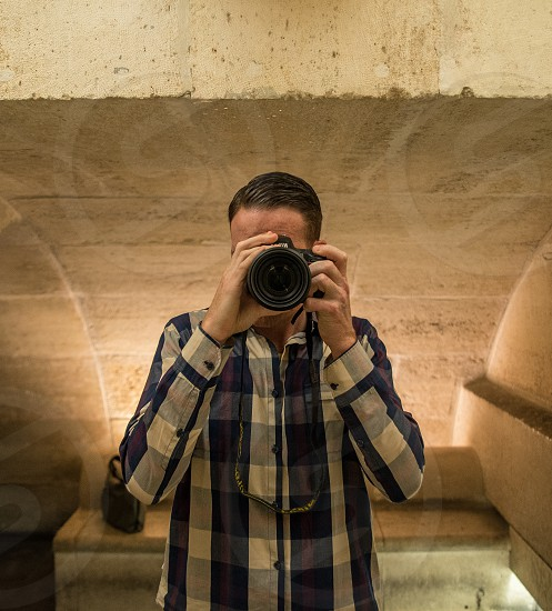 Me and my camera in the mirror! photo