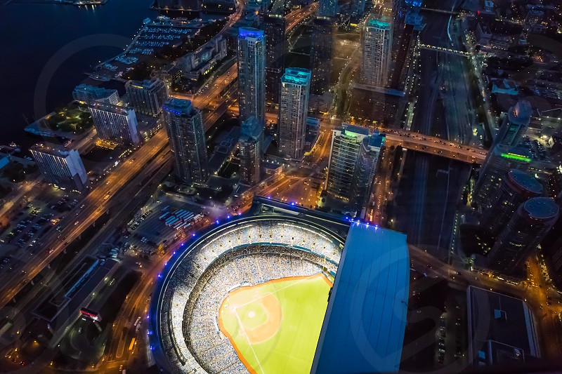 View of Rogers Stadium Toronto  Canada photo