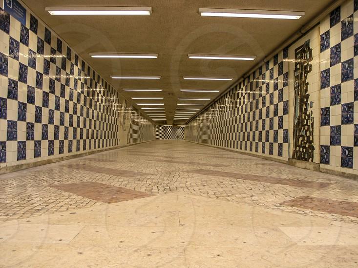 Tunnel floor photo