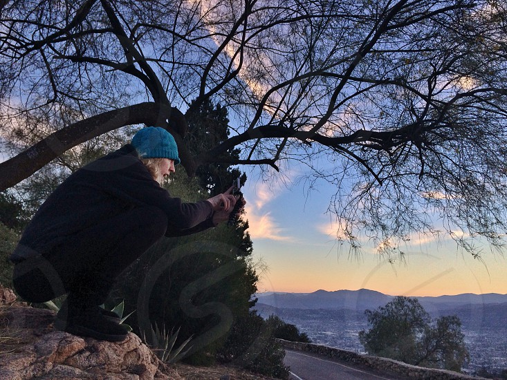 Shooting at Mt Helix photo