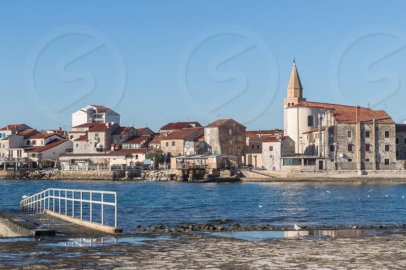 Beautiful town Umag on Istra peninsula -Istra -Croatia photo