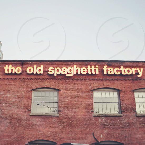 the old spaghetti factory photo