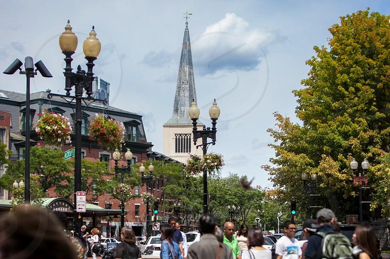 Downtown Boston Massachusetts photo