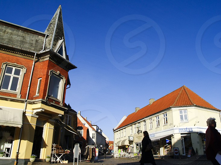 Ebeltoft an old port town on the central east coast of Denmark located in Syddjurs municipality in Region Midtjylland on the larger Djursland peninsula of Jutland in Denmark photo