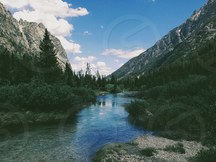 Cascade Canyon WY photo