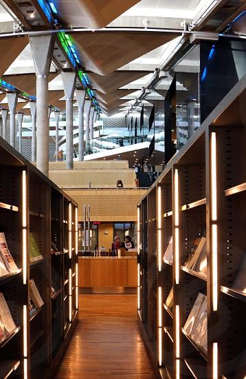 Inside Alexandria Library Egypt photo