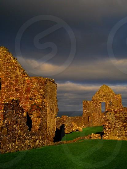 Dunluce Castle  County Antrim Northern Ireland Novemver 2013 photo