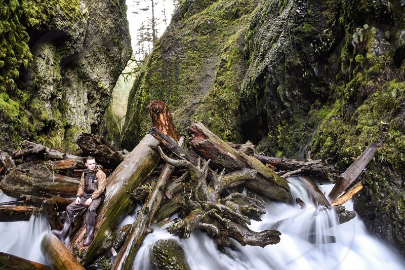 Oregon oneota gorge Portland waterfall photo