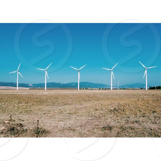 Wind Turbines of Andalucía Spain. photo