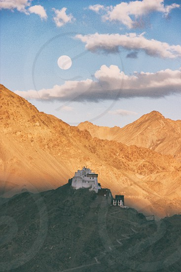 Monastery On Mountain  photo