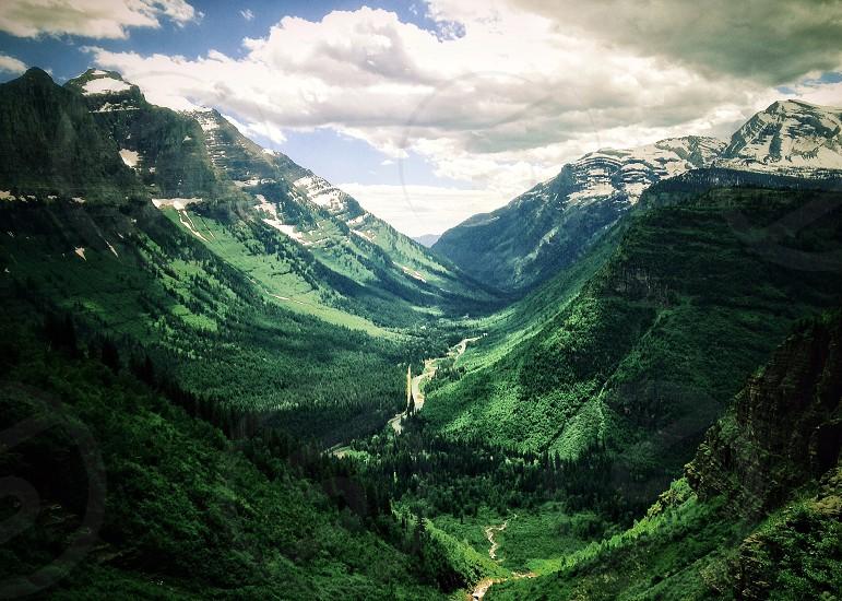 Landscape beauty travel glacier  photo