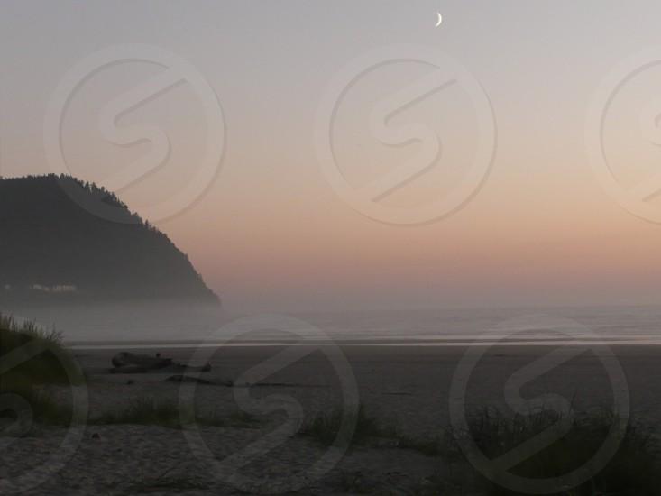 Sunset at Seaside OR photo