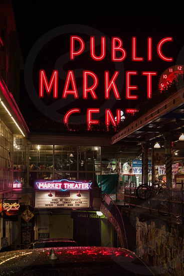 Pike's Place Seattle. photo