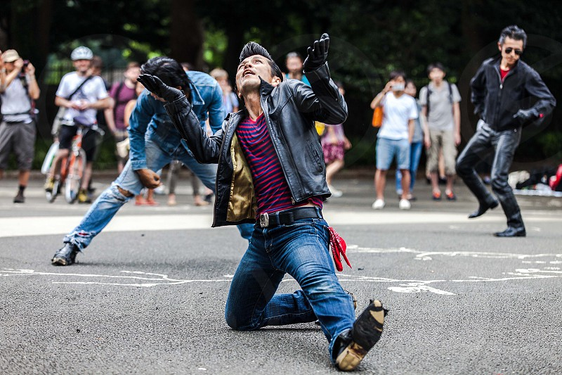 Rockabilly Japan dancer Tokyo  photo