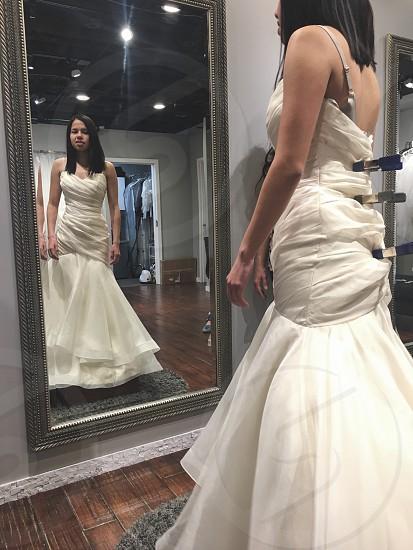 Wedding dress shopping! photo