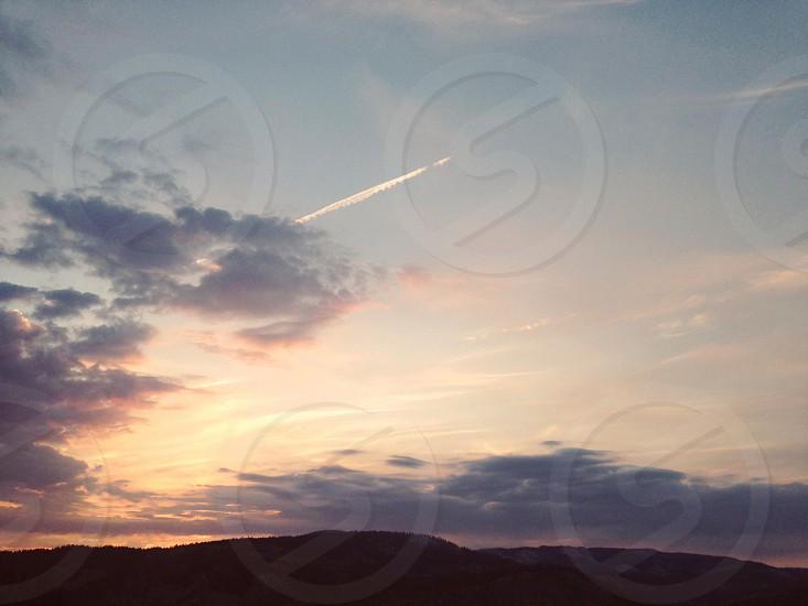 blue horizon photo